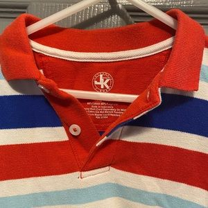 J khaki toddler boy polo size 2t